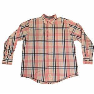 4/$40 - IZOD Men's Checked Shirt - Large